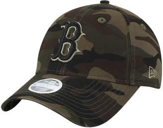 New Era Women's Camo Boston Red Sox Tonal Camo Core Classic 9TWENTY Adjustable Hat