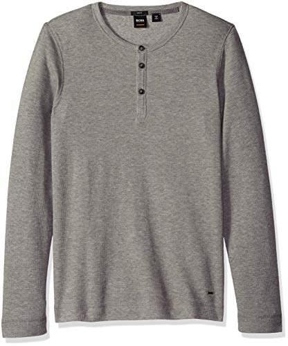 146894cb9 HUGO BOSS Gray Men's Tshirts - ShopStyle