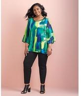 Nygard Collection Bell Tunic Sleeves