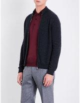 Corneliani Zip-up cashmere cardigan