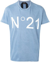 No.21 printed T-shirt - men - Cotton - M