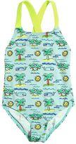 Stella McCartney Sun & Palms Print Lycra Bathing Suit
