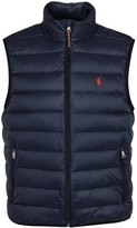 Polo Ralph Lauren Navy Quilted Shell Gilet