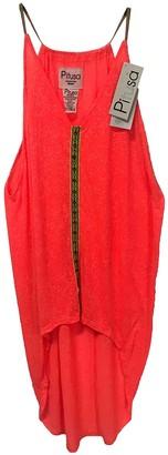 Pitusa Orange Cotton Dresses