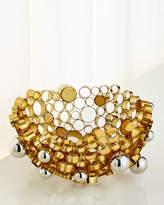 John-Richard Collection Nickel Orbs Bowl