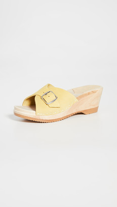 NO.6 STORE Abuela Mid Wedge Clogs