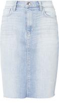 L'Agence Montecito High-Rise Denim Skirt