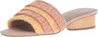 Donald J Pliner Women's Reise Slide Sandal Rose Multi 6 Medium US