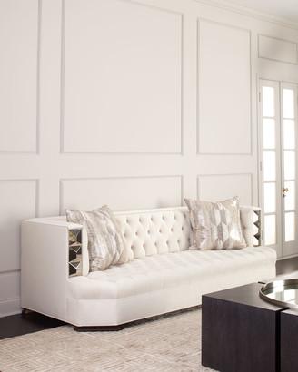 "Haute House Jaclyn Tile-Trim Sofa 97"""