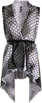Pierantonio Gaspari All-Over Print Knit Vest
