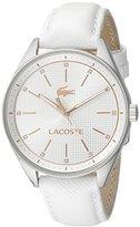 Lacoste Women's 2000900 Philadelphia Analog Display Japanese Quartz White Watch
