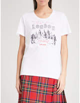 Burberry Cidacos London-print cotton-jersey T-shirt