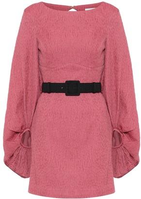 Rebecca Vallance Greta crinkle minidress