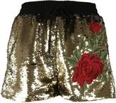 Philipp Plein Sequined Shorts