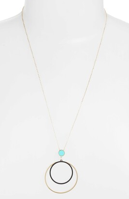 Knotty Sphere Focus Necklace