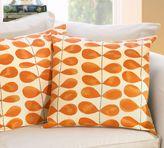 Orange Leaves Pillow Cover