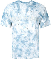 Satisfy distressed tie-die T-shirt