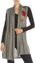 Joseph A Rose Embroidered Vest