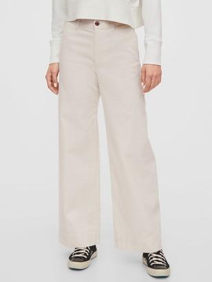 Gap High Rise Wide-Leg Corduroy Pants