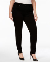 Style&Co. Style & Co Plus Size Tummy-Control Skinny Jeans, Only at Macy's