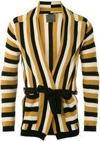 Laneus striped cardigan - men - Cotton - 44