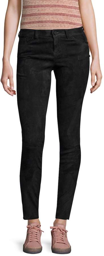 Alice + Olivia Women's Amgie Suede Pant