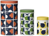Orla Kiely Assorted Storage Tins - Set of 3 - Animals