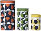 Orla Kiely Assorted Storage Tins - Set of 3 - Animals