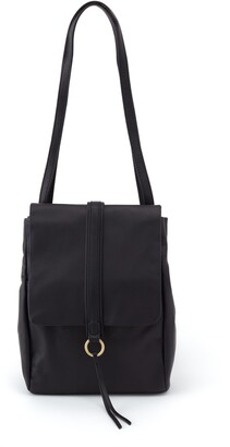 Hobo Bridge Convertible Leather Messenger Bag