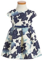Sweet Heart Rose Toddler Girl's Leaf Print Dress