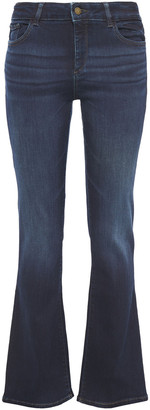 DL1961 Faded Mid-rise Bootcut Jeans