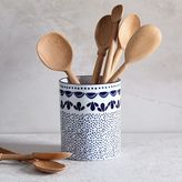west elm Scallop Print Utensil Holder