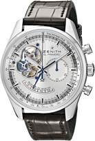 Zenith Men's3.28.421/1.C494 Chronomaster Open Power Reserve Silver Dial Watch