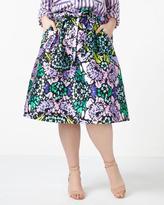 Penningtons MELISSA McCARTHY Floral Print Skirt