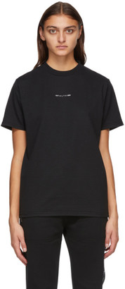 Alyx Black Visual Logo T-Shirt