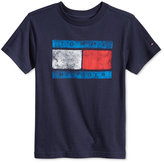 Tommy Hilfiger Little Boys' Tommy Flag Graphic-Print T-Shirt