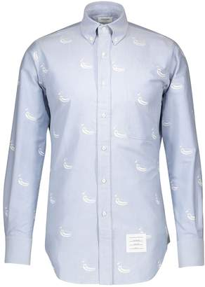 Thom Browne Embroidered Duck shirt
