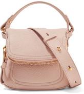 Tom Ford Jennifer Mini Textured-leather Shoulder Bag - Pastel pink