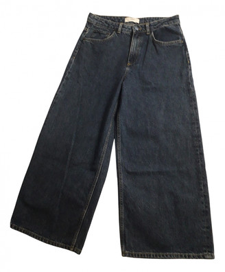 BA&SH Fall Winter 2019 Blue Cotton Jeans