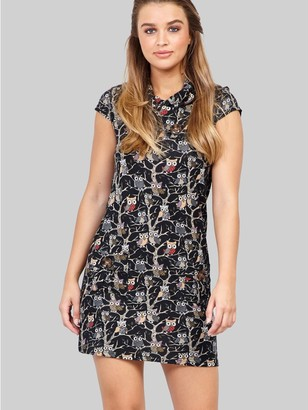 M&Co Izabel forest print knitted dress