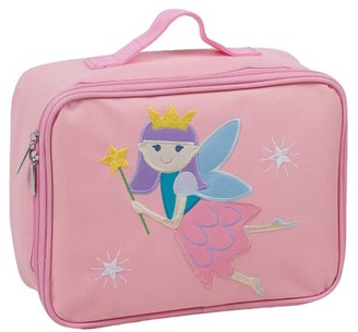 Olive Kids Fairy Princess Pink Embroidered Insulated Lunch Box for Boys and Girls