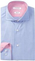 Isaac Mizrahi Dobby Slim Fit Dress Shirt