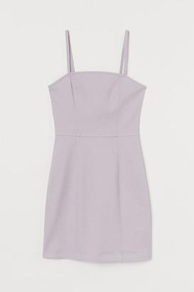 H&M Cotton bodycon dress