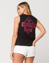 Volcom Stone Palm Womens Muscle Tank