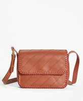 Brooks Brothers Leather Cross-body Bag