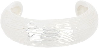 Simon Sebbag Sterling Silver Textured Cuff