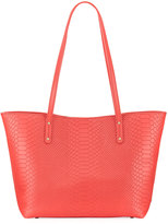 GiGi New York Taylor Snake-Embossed Mini Tote Bag