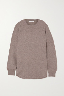 Extreme Cashmere N53 Crew Hop Cashmere-blend Sweater - Brown