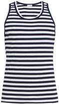 Dolce & Gabbana Striped cotton-blend tank top