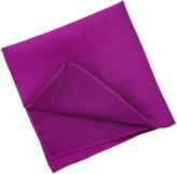 Oxford Pocket Sq Silk Fuschia